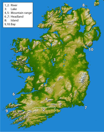 irish-geography