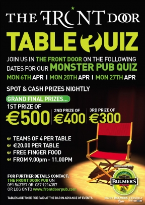 monster table quiz