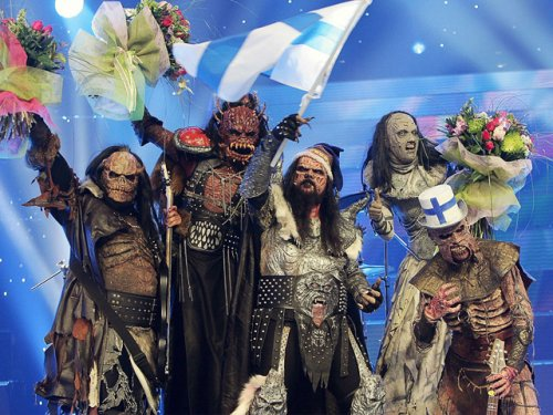 Lordi win the Eurovision