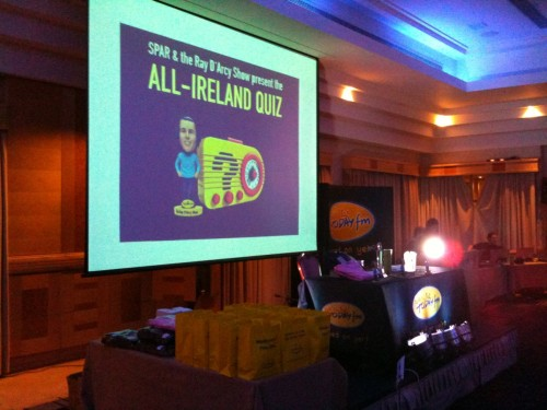 Sligo Quiz stage