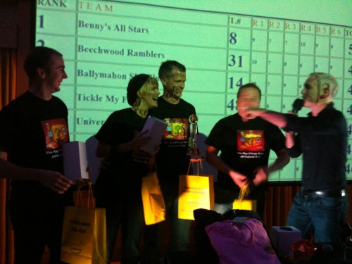 Sligo Quiz winners