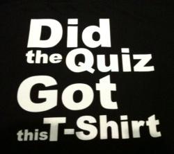 Free t-shirt!