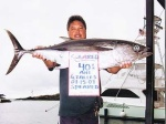This man has caught an Albacore