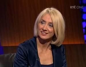Teresa Lowe on The Late Late Show